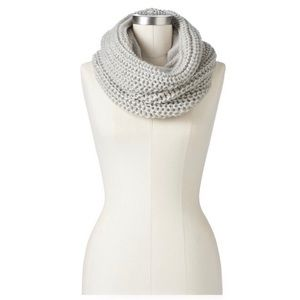 Juicy Couture Mixed Media Cowl Scarf